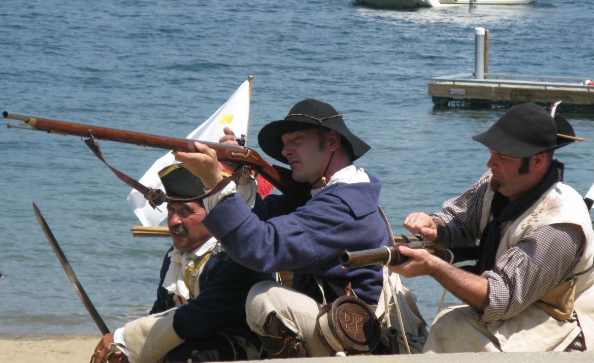 Crossroads of the French and Indian War: Reenactment at Bolton