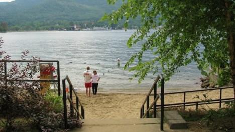 beach lake george ny