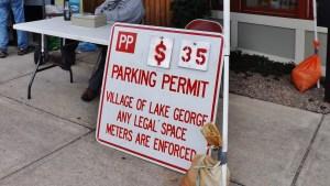 lake george parking car show
