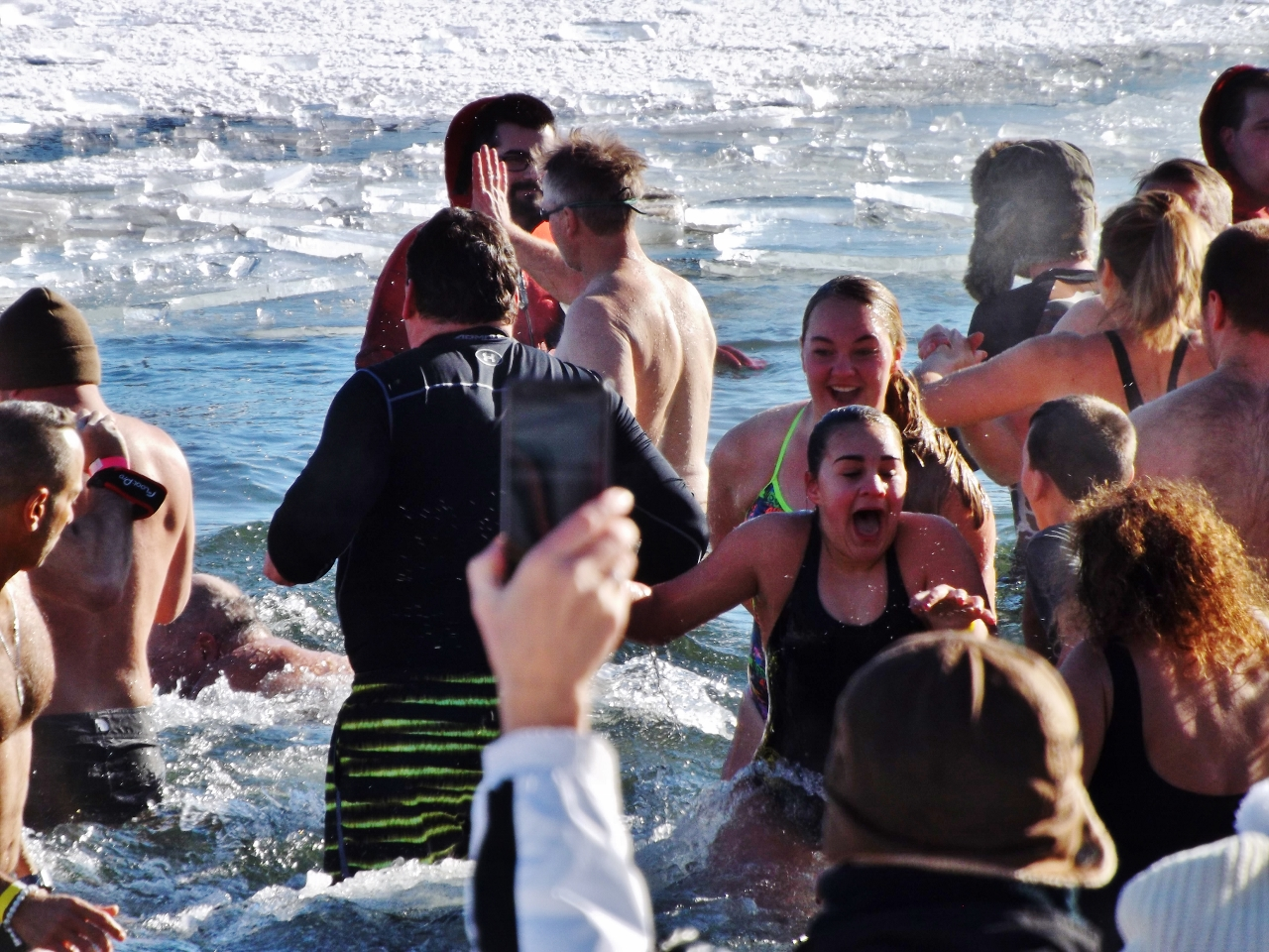 2018 New Year's Day Polar Plunge