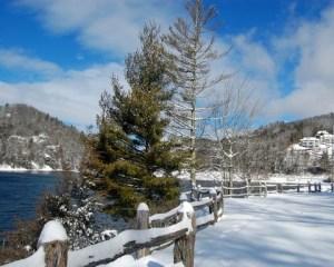 Snowy Lake Glenville NC