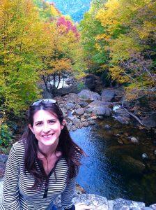 Katie at Sunburst Falls