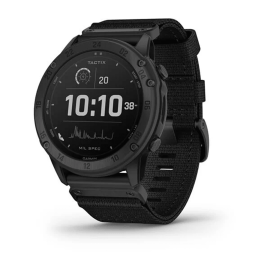 Solar-powered Tactical GPS Watch with Nylon Band