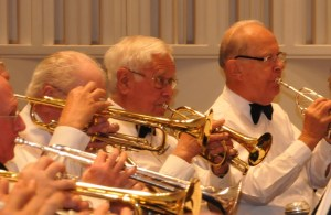 photo of trumpets from the Lakeland Concert Band