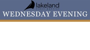Wednesday Prayer Service Featured Image