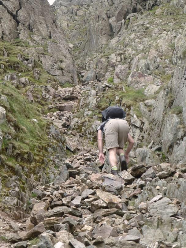 South Rake Ascent