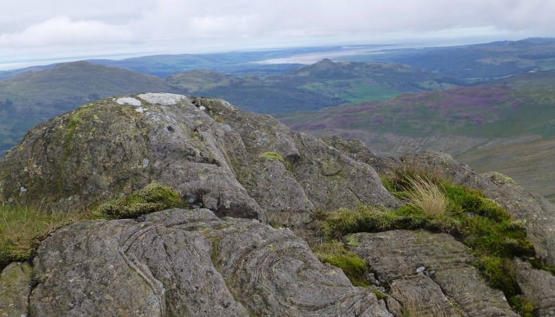 Looking west from Harter Fell