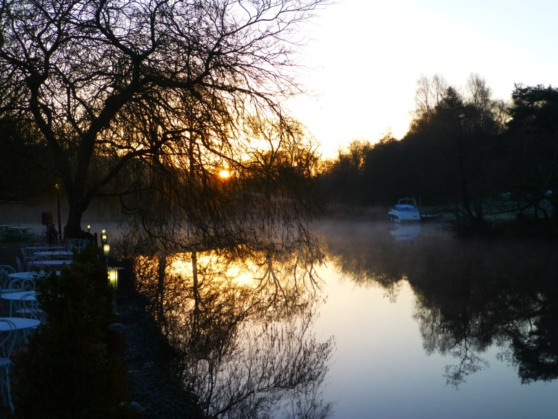 Newby Bridge First Light