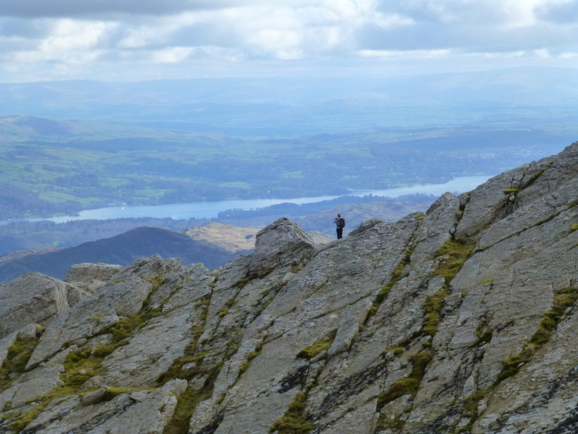 Windermere from the top of the Great Slab