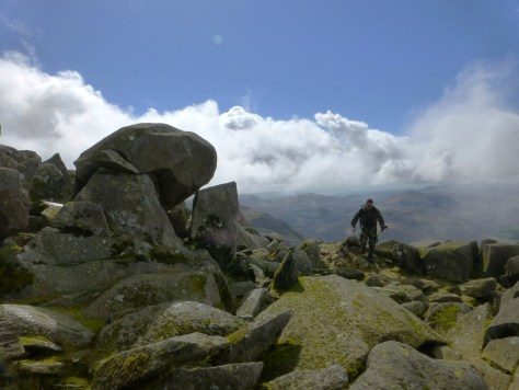 Bow Fell summit