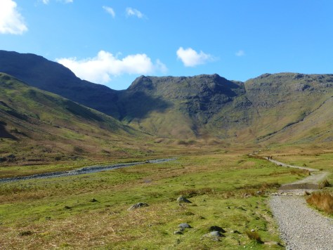 Rossett Pike from Mickleden