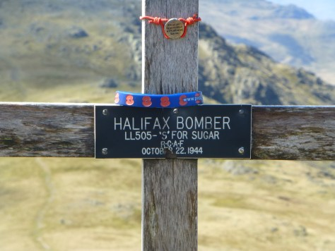 Cross for the Crashed Bomber