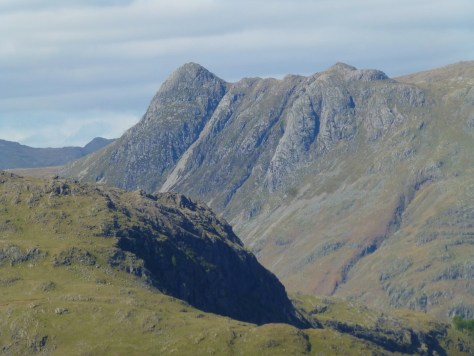 Pike O'Stickle from Wetherlam