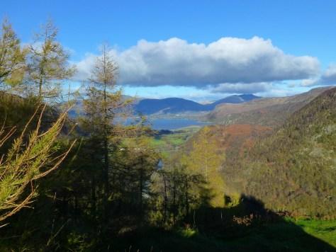 Derwent Water from Castle Crag