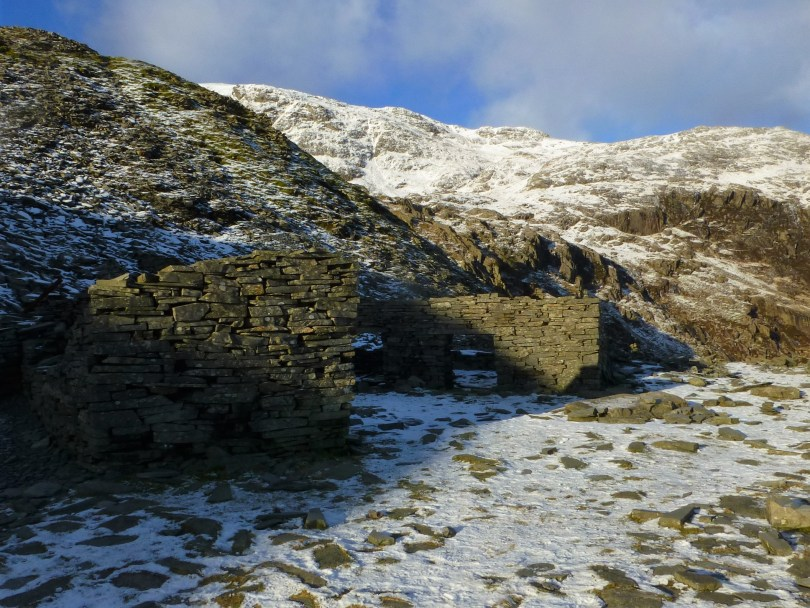 Slate quarry buildings - Old Man of Coniston