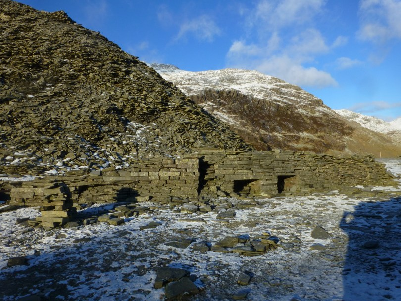 Slate quarry ruins - The Old Man Of Coniston