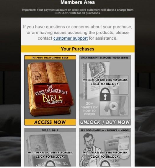 Penis Enlargement Bible Download Page