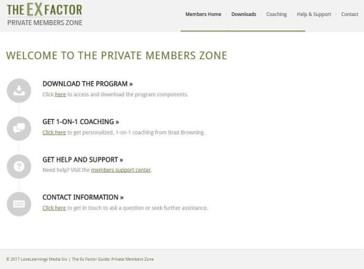 The Ex Factor Guide Download Page