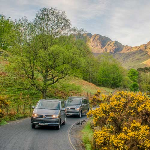 Camper van hire the lake district