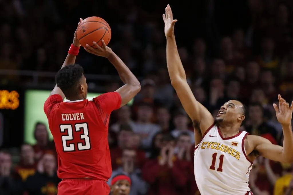 Jarrett Culver, Texas Tech vs Iowa State