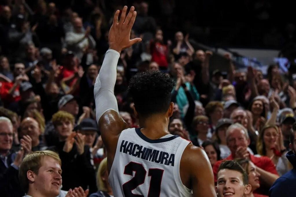 Rui Hachimura, Gonzaga Bulldogs