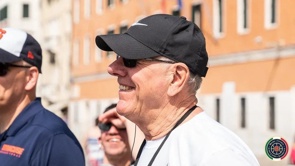 Coach Jim Boeheim, Syracuse Orange Tour at Venice