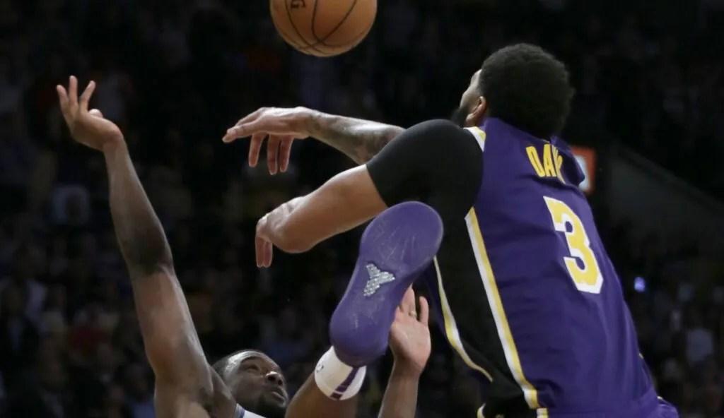 Anthony Davis, Los Angeles Lakers vs Sacramento Kings