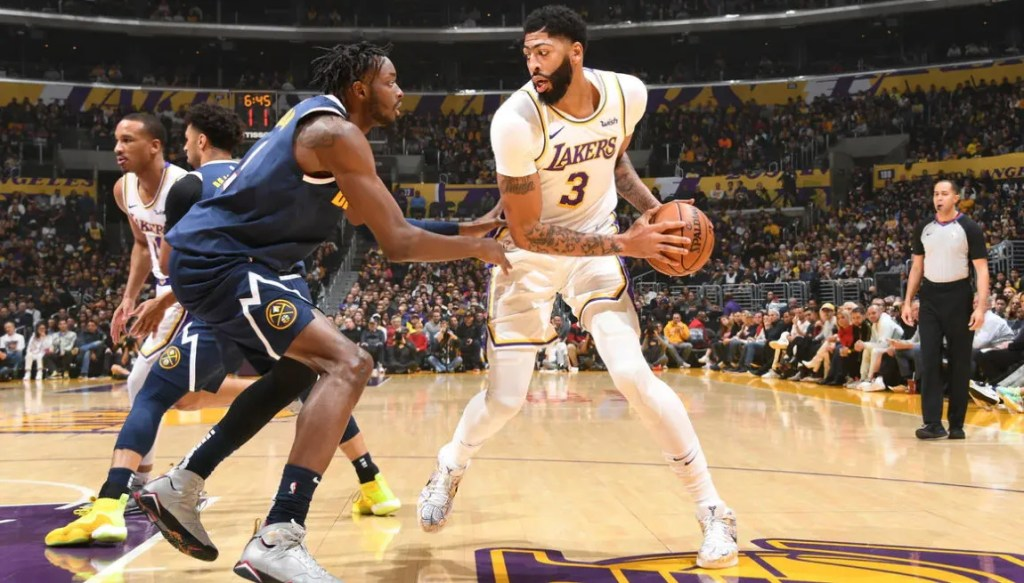 Anthony Davis, Los Angeles Lakers vs Denver Nuggets
