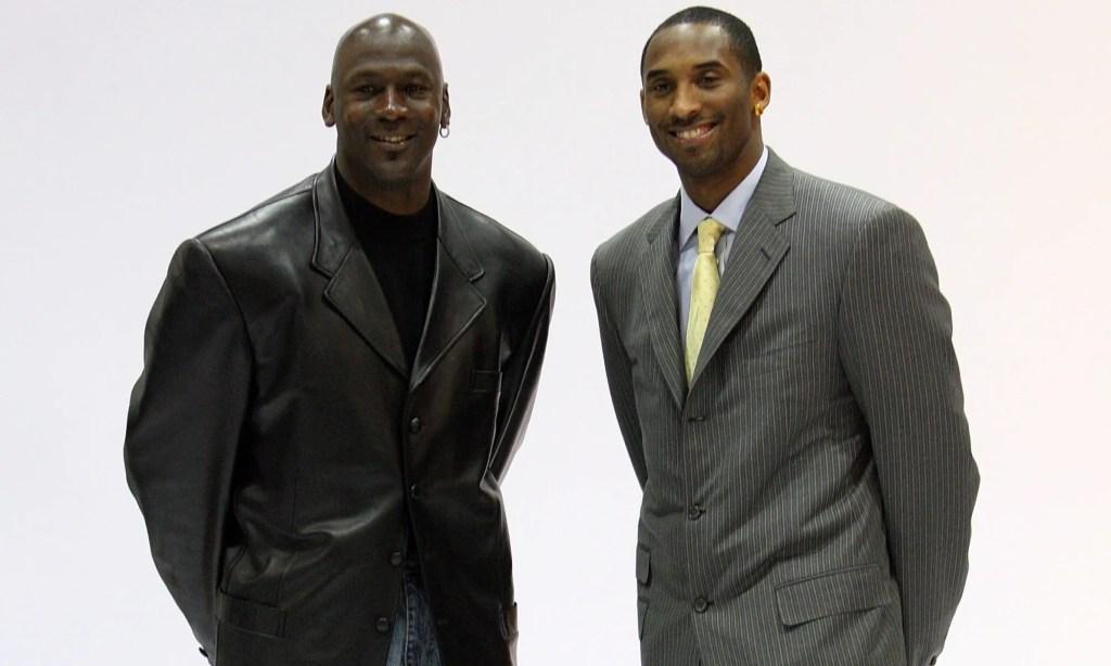 Kobe Bryant and Michael Jordan. November 13, 2013
