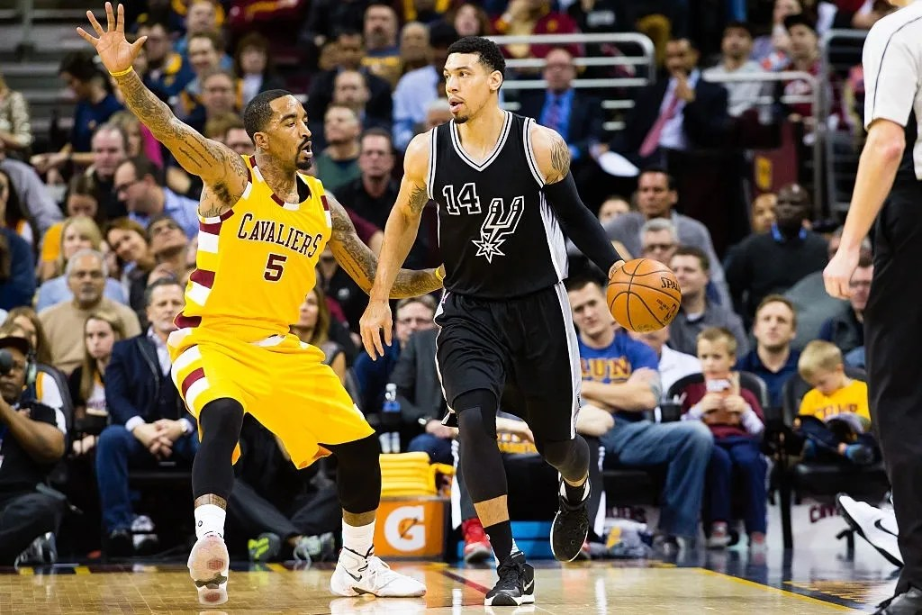 J.R. Smith and Danny Green