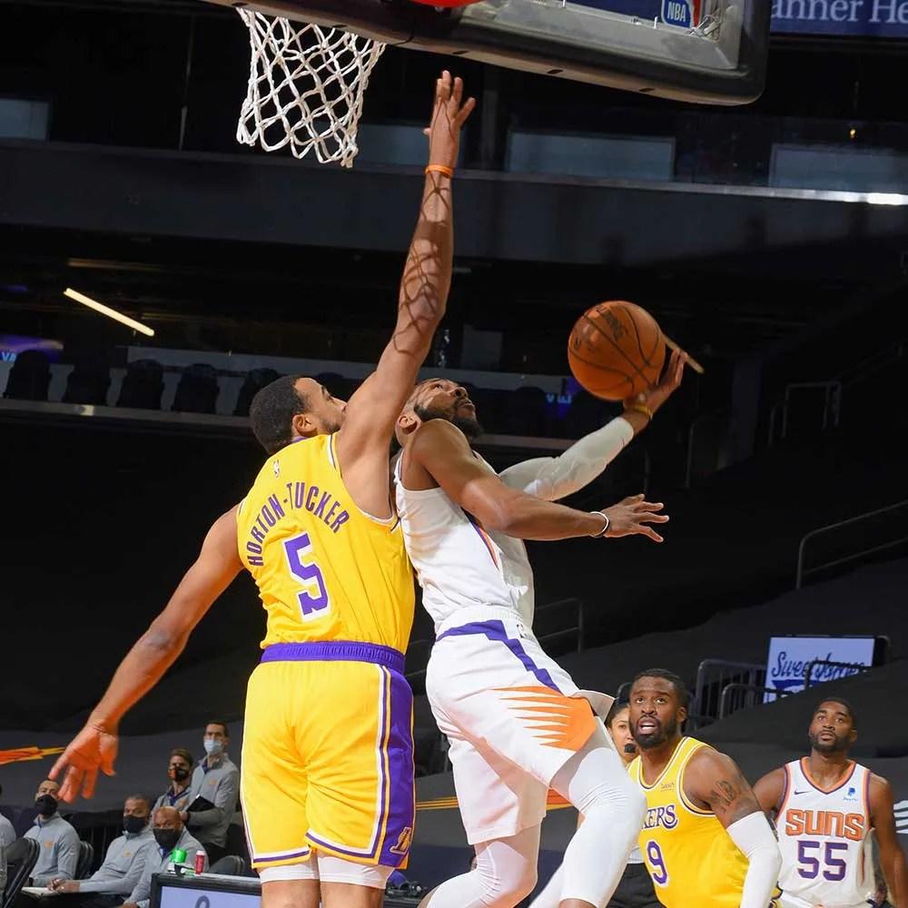 Talen Horton-Tucker, Los Angeles Lakers vs Phoenix Suns