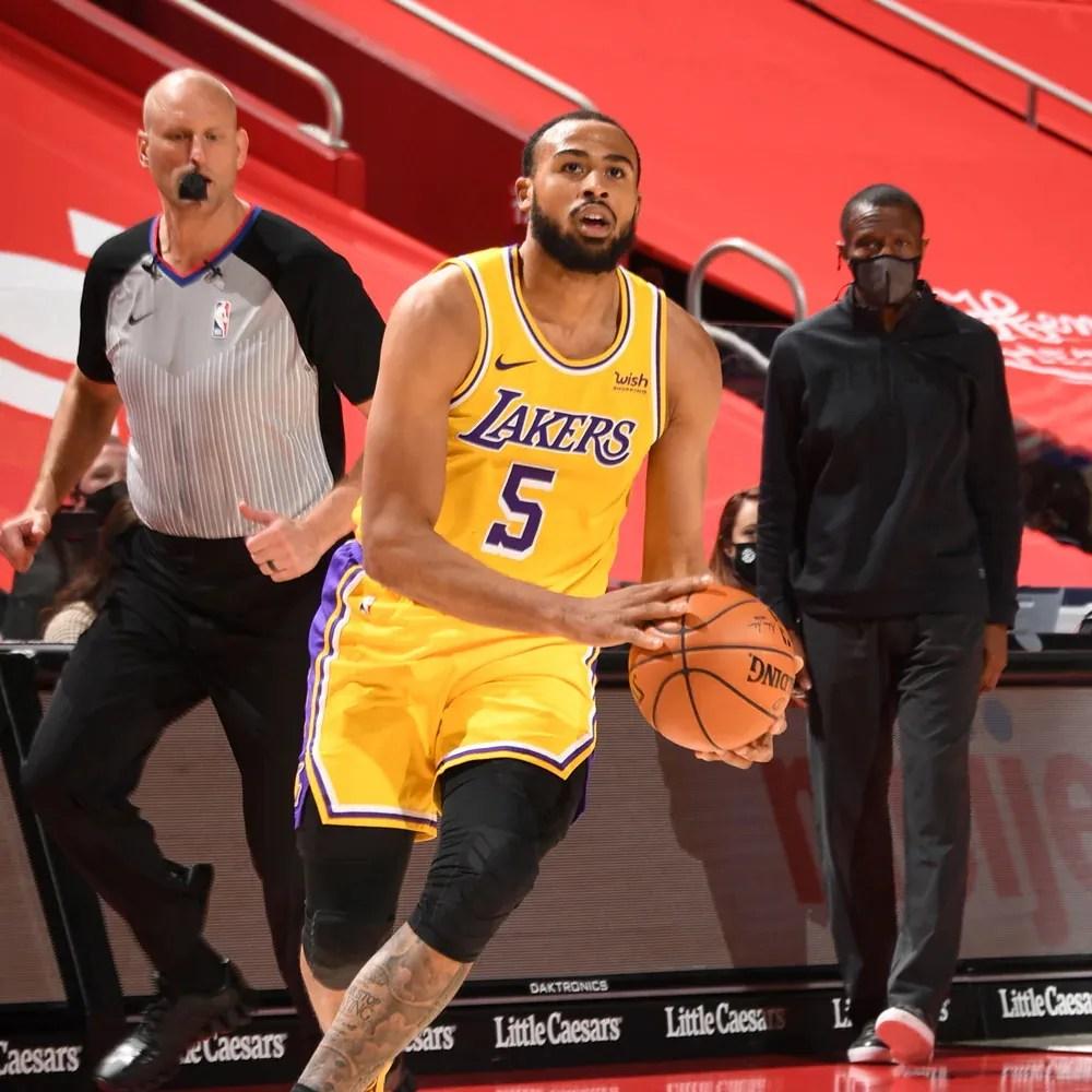 Talen Horton-Tucker, Los Angeles Lakers vs Detroit Pistons