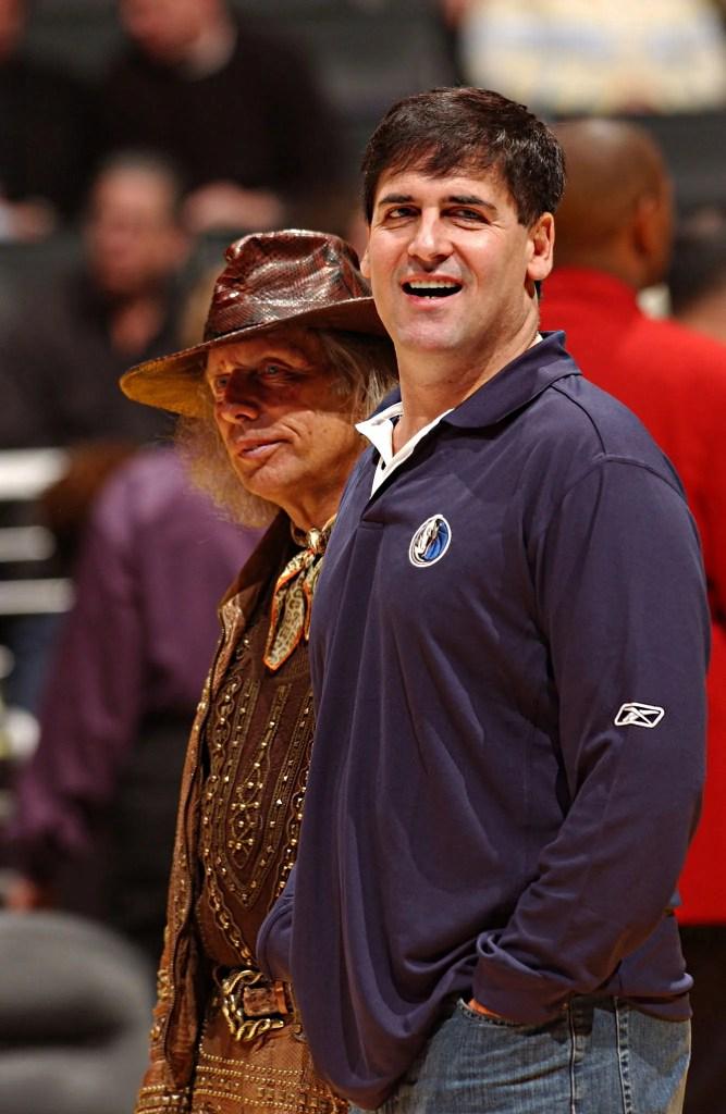 Mark Cuban and Jim Goldstein, Los Angeles Lakers vs Dallas Mavericks