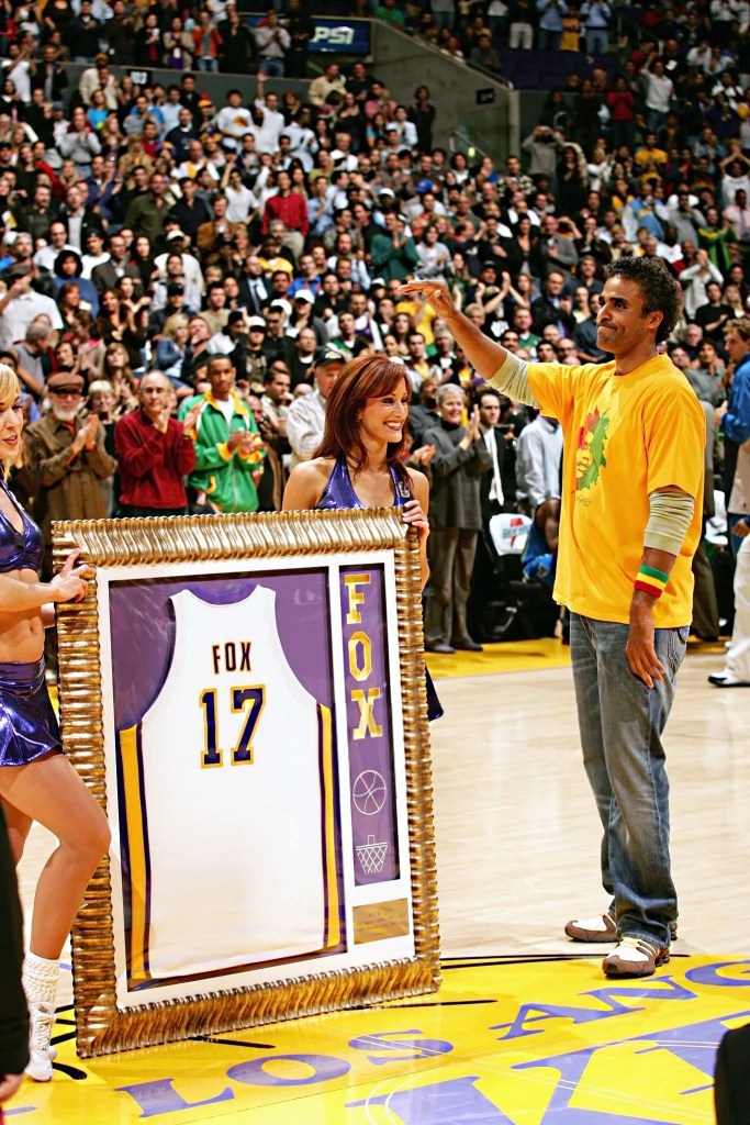 Rick Fox, Los Angeles Lakers vs Dallas Mavericks