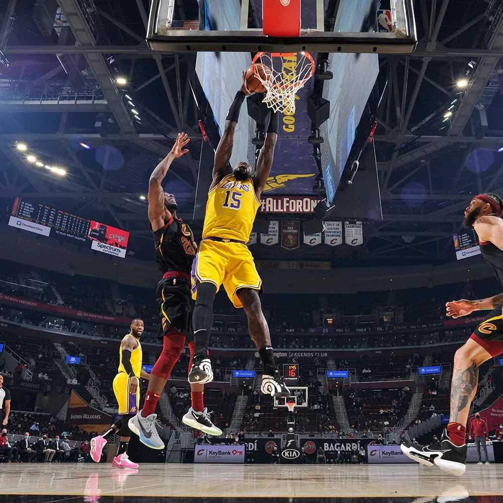 Montrezl Harrell, Los Angeles Lakers vs Cleveland Cavaliers