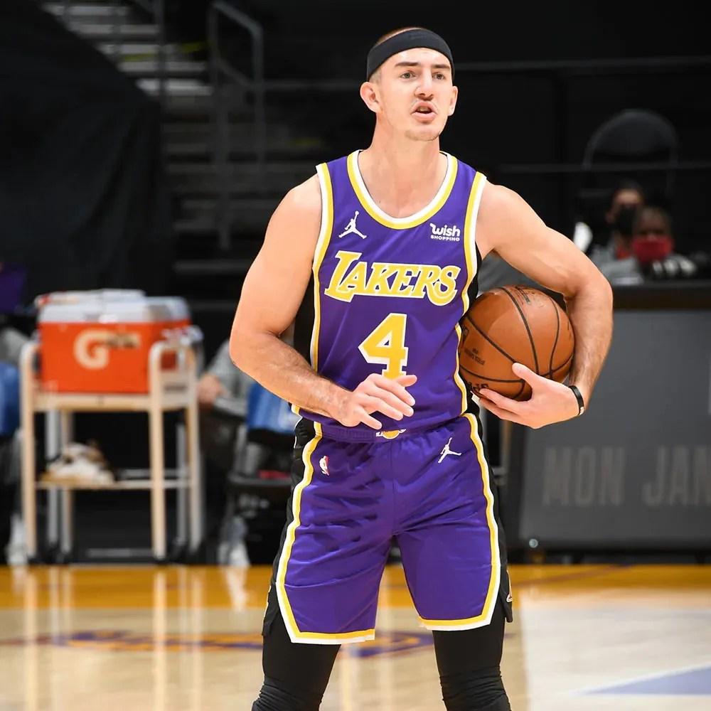 Alex Caruso, Los Angeles Lakers vs New Orleans Pelicans