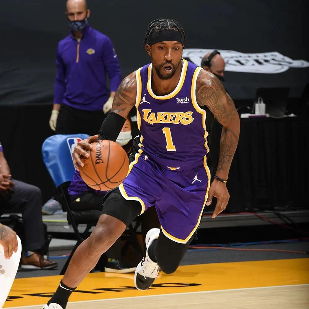 Kentavious Caldwell-Pope, Los Angeles Lakers vs New Orleans Pelicans