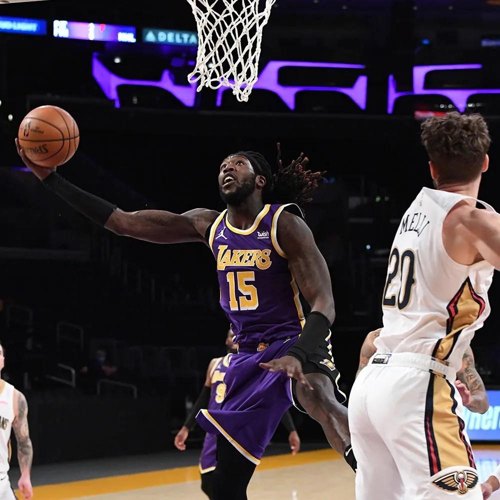 Montrezl Harrell, Los Angeles Lakers vs New Orleans Pelicans