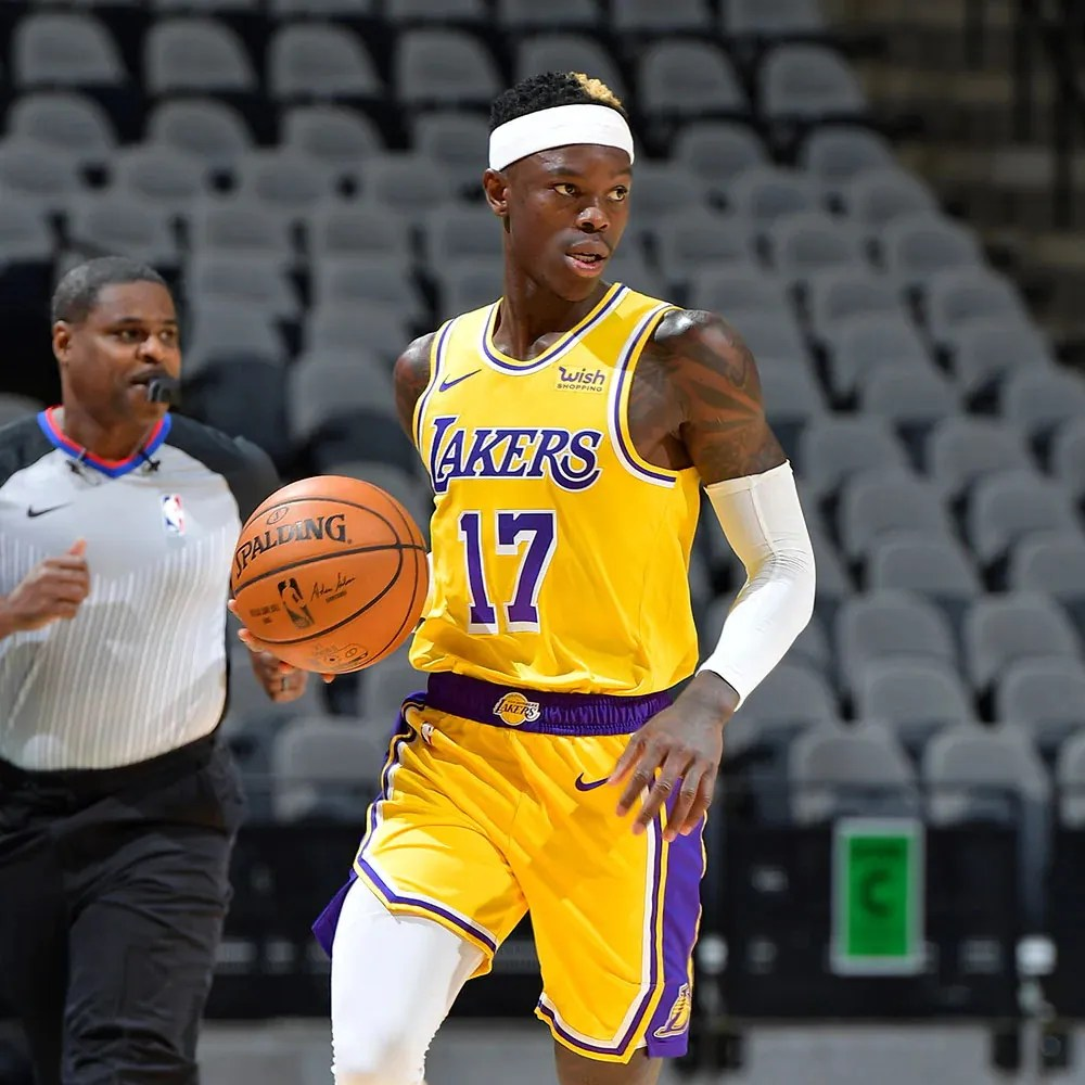 Dennis Schröder, Los Angeles Lakers at San Antonio Spurs