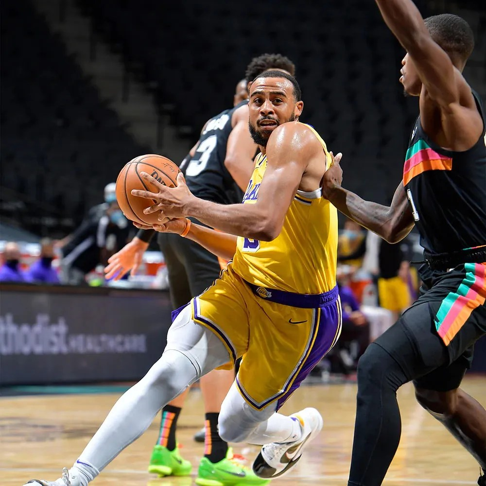 Talen Horton-Tucker, Los Angeles Lakers at San Antonio Spurs