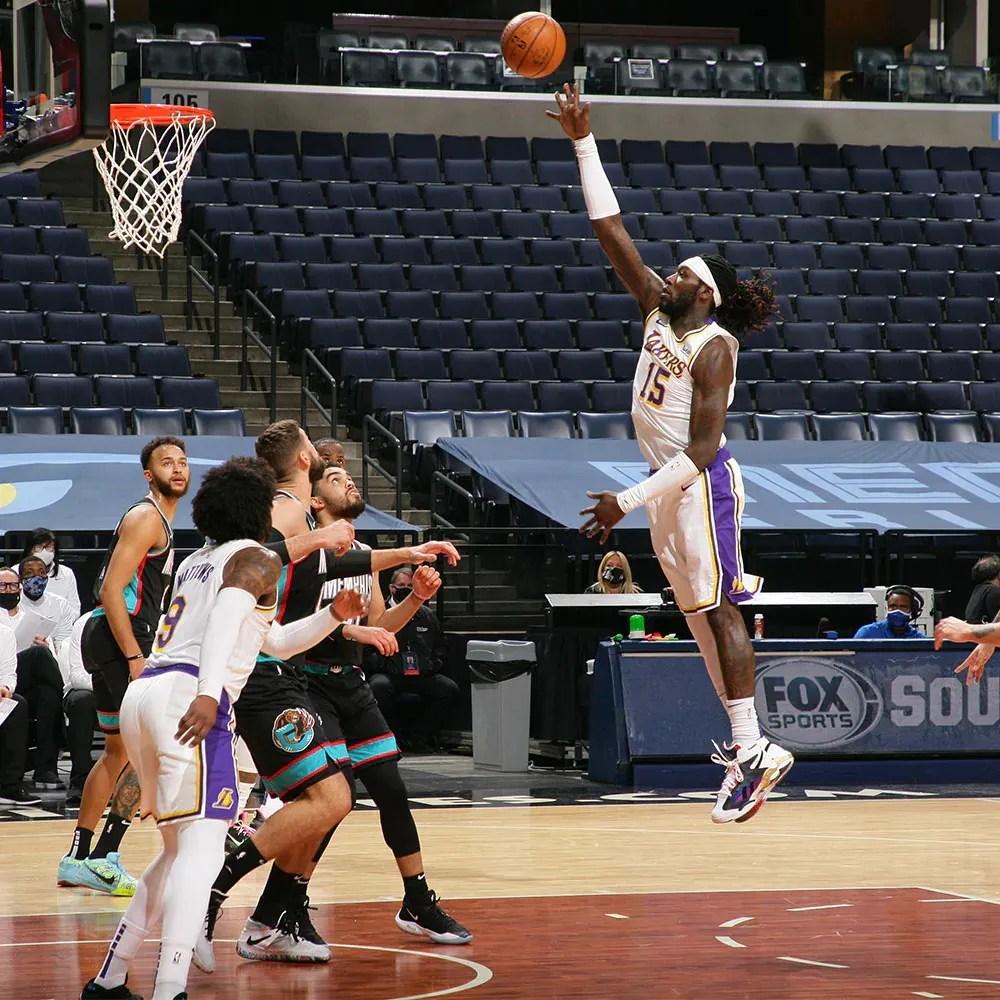 Montrezl Harrell, Los Angeles Lakers vs Memphis Grizzlies