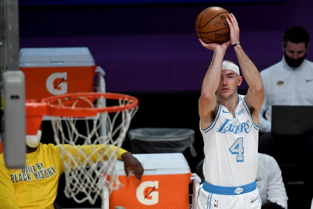 Alex Caruso, Los Angeles Lakers vs Washington Wizards