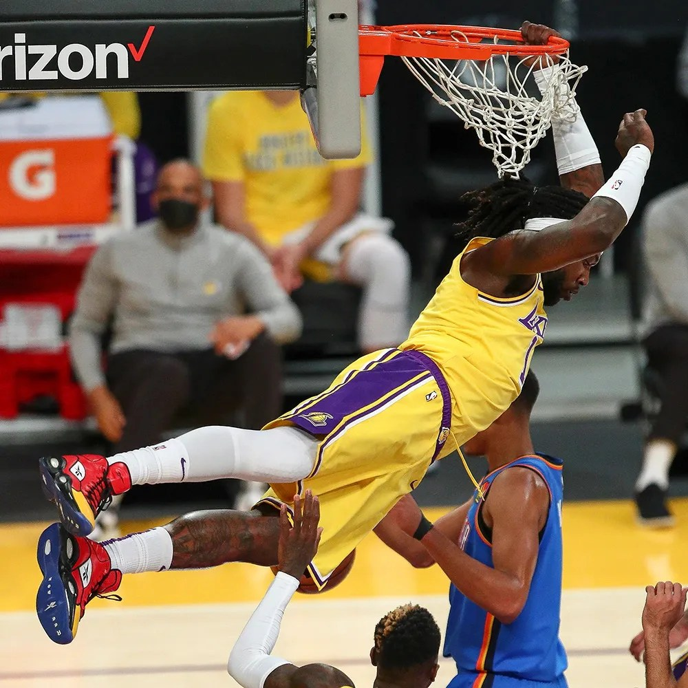 Montrezl Harrell, Los Angeles Lakers vs Oklahoma City Thunder