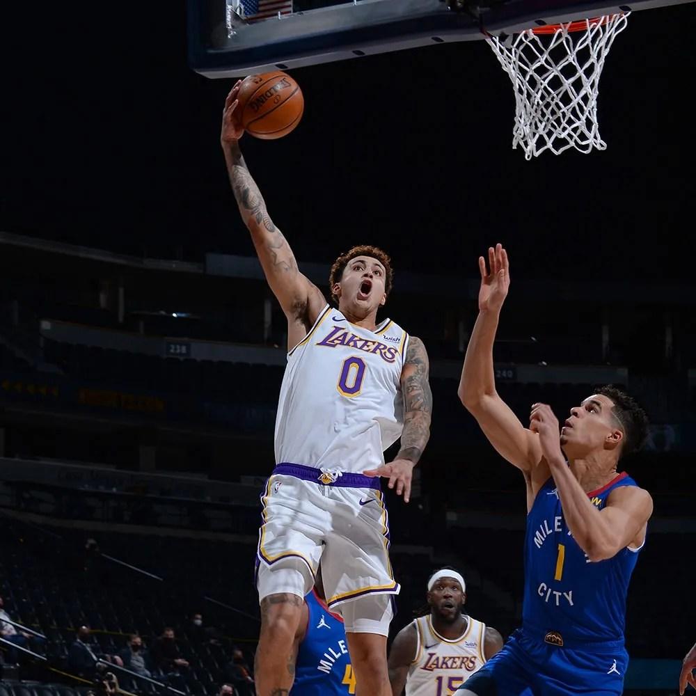 Kyle Kuzma and Michael Porter Jr., Los Angeles Lakers vs Denver Nuggets