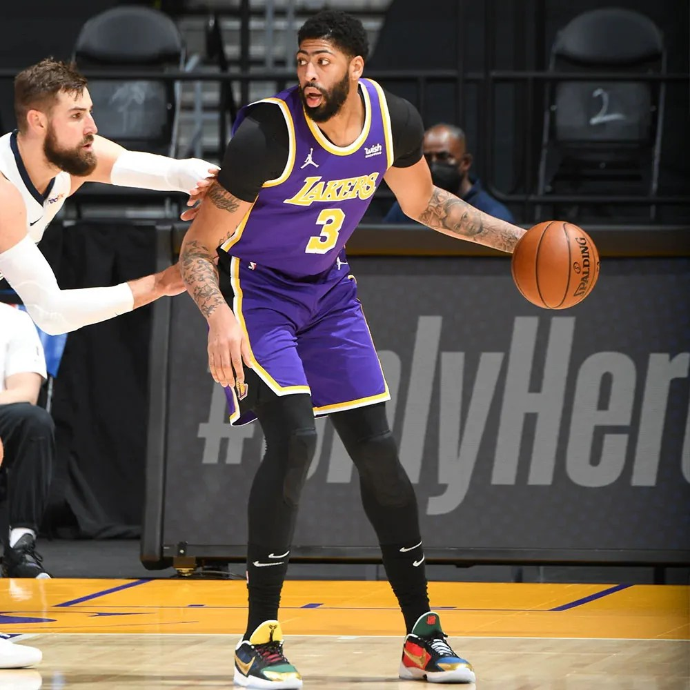 Anthony Davis, Los Angeles Lakers vs Memphis Grizzlies