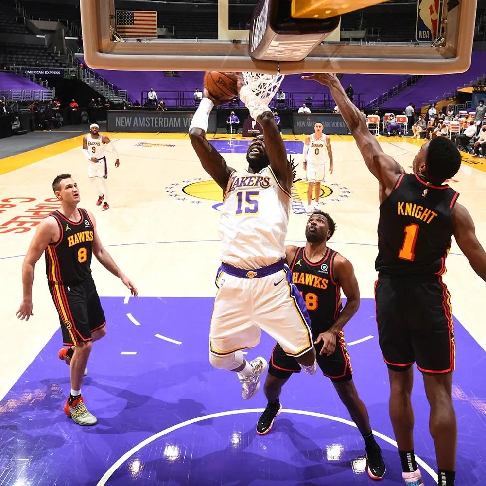 Montrezl Harrell, Los Angeles Lakers vs Atlanta Hawks