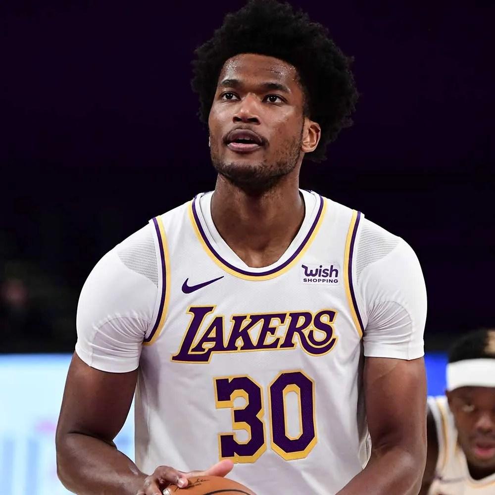 Damian Jones, Los Angeles Lakers vs Golden State Warriors