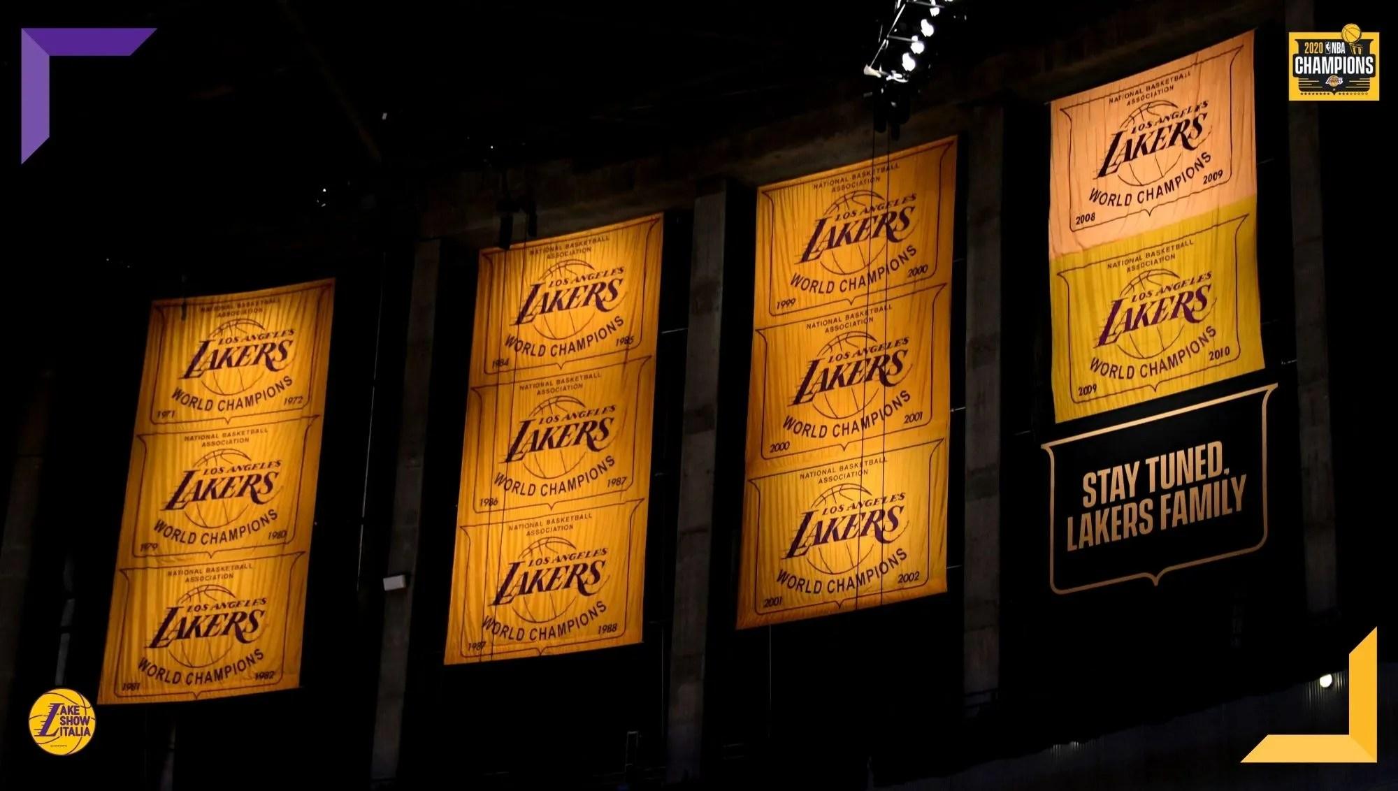 I Los Angeles Lakers isseranno il banner del diciassettesimo titolo il 12 Maggio. Jeanie Buss ha confermato la presenza dei tifosi contro Boston.