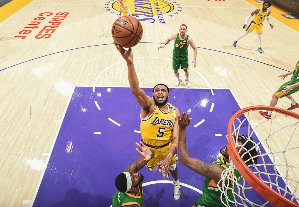 Talen Horton-Tucker, Los Angeles Lakers vs Utah Jazz