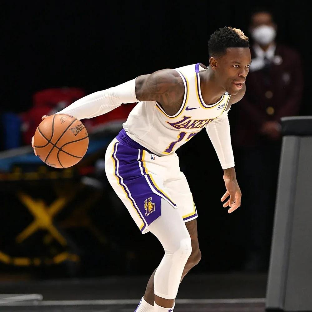 Dennis Schröder, Los Angeles Lakers vs Dallas Mavericks
